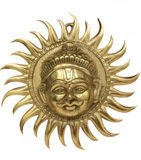 Copper Sun Faces