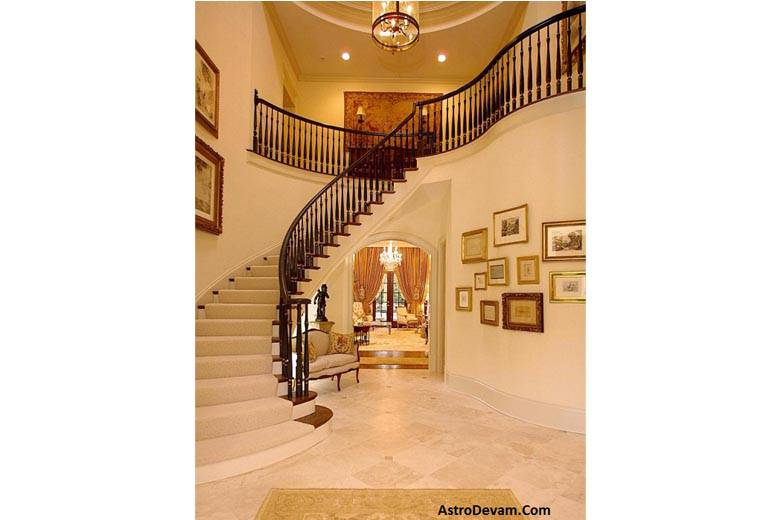 Direction Of Stairs As Per Vastu, Direction Of Stair From East To West