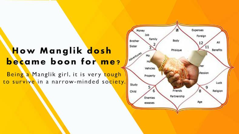 How Manglik dosh became boon for me