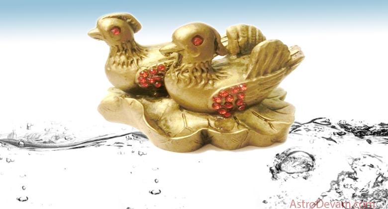 Feng Shui Love Symbol Mandarin Ducks