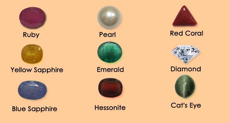 Navaratan/ Nine Gemstones In Hindu Astrology