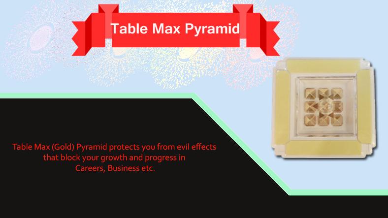 Table Max Pyramid Uses and Benefits