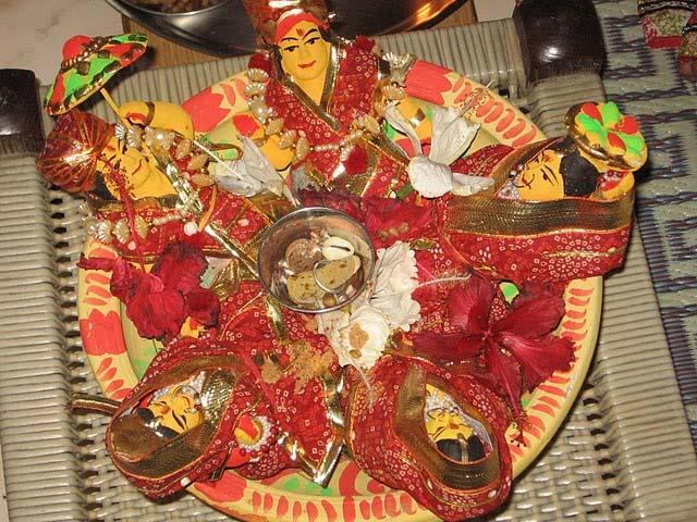 Gauri Puja / Gangaur