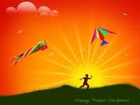 Makar sankranti, Makar sankranti festival in India, Makar sankranti kite festival.