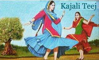 Kajali / Kajari Teej