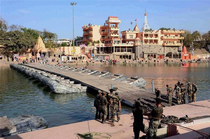 Ujjain Simhastha Kumbh Festival-  Kumbha Mela at Ujjain.
