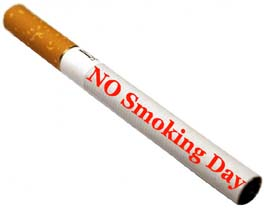 No Smoking Day, No Smoking Day Festival, No Smoking Day 13th March.