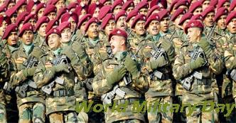 World Military Day, World Military Day Festival, World Military Day Celebration.