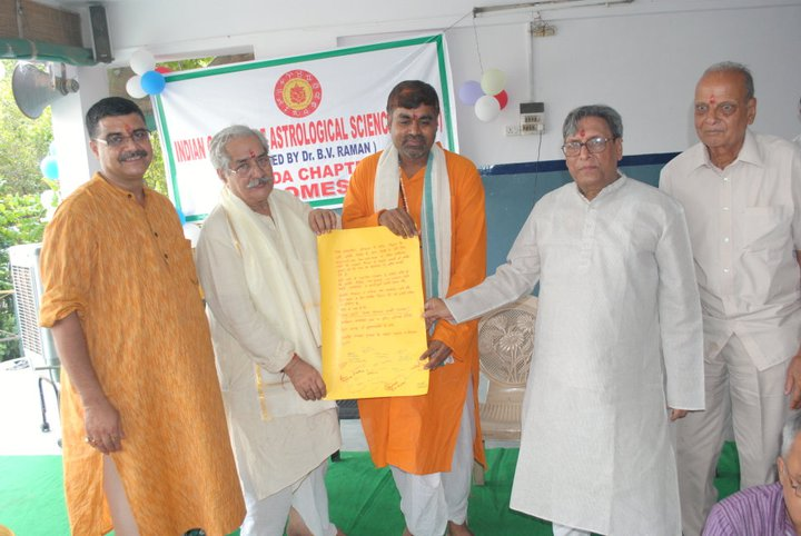 Birthday Celebration of Achary Kalki Krishnan at ICAS, Noida chapter.  Also in pic V.P Jain, S.N. Kapoor, M.N. Kedar, Lalit Pant.