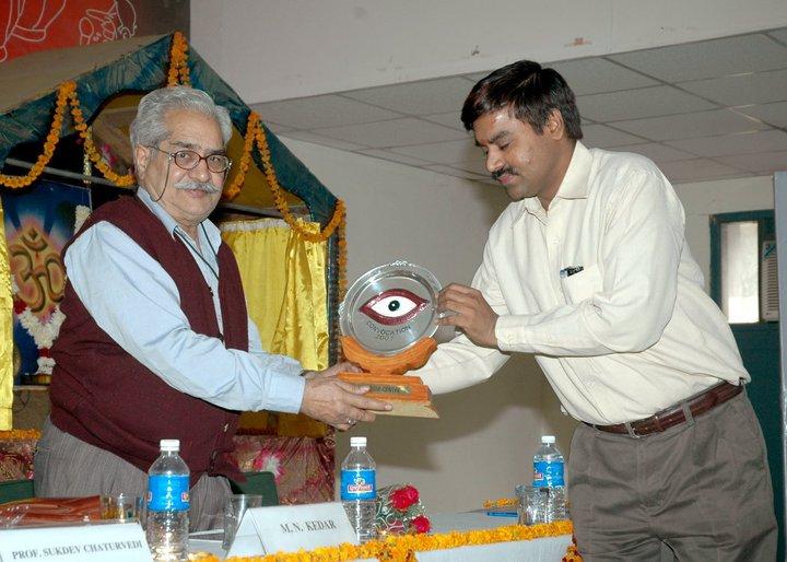M.N Kedar and Achary Kalki Krishnan in Blog by Achary Kalki Krishnan on AstroDevam.com