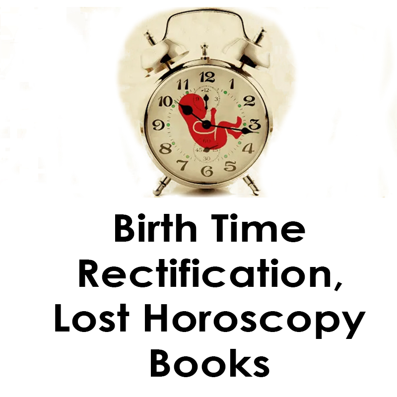 Birth Time Rectification, Lost Horoscopy Books