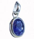 Blue Sapphire (Neelam ) Pendant
