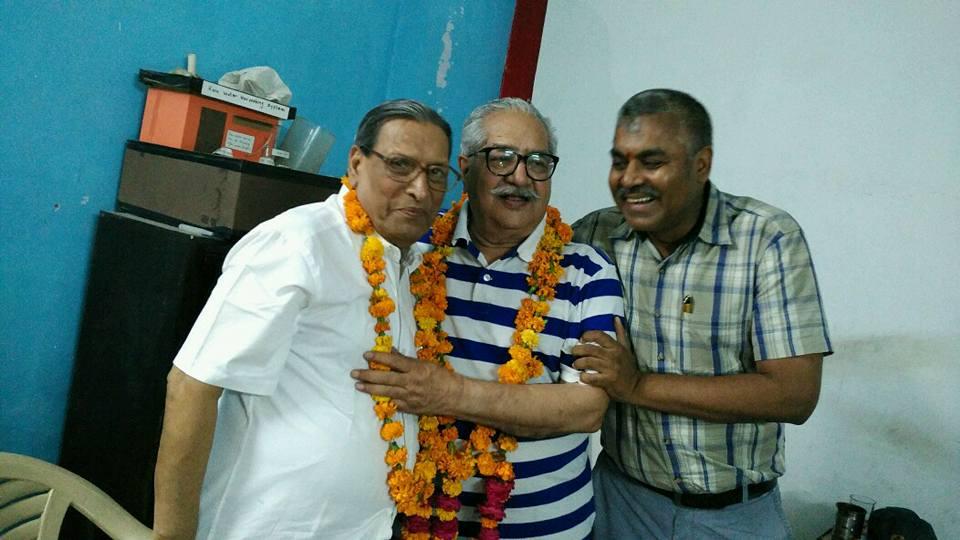 Light moments. MN Kedar, S.N. Kapoor, Achary Kalki Krishnan in Blog by Achary Kalki Krishnan on AstroDevam.com