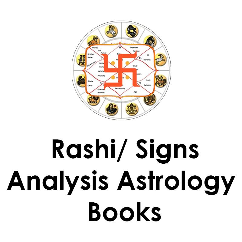 Rashi/ Signs Analysis Astrology Books