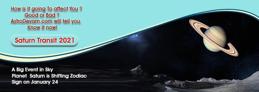 Saturn Transit 2021