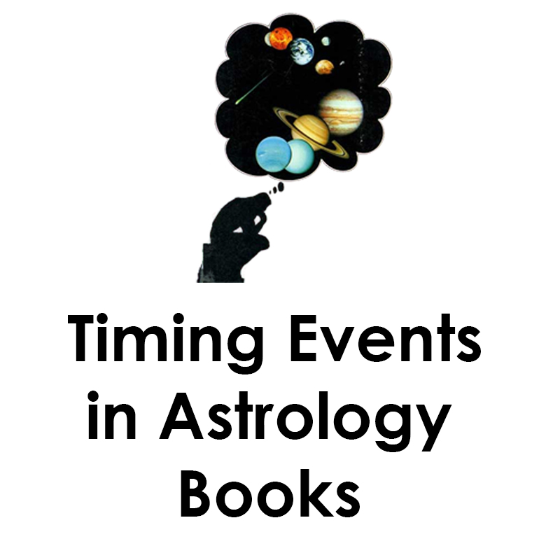 Timing Events in Astrology Books