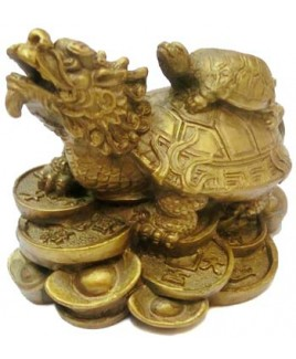Dragon with Tortoise