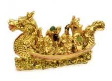 Eight Immortals on Dragon Boat