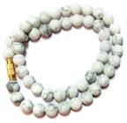 Howlite Mala / Rosary
