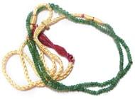 Emerald (Panna) Mala Beads