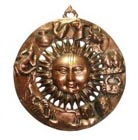 Copper Sun Faces
