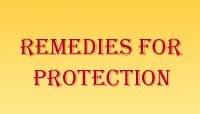 Remedies for Protection
