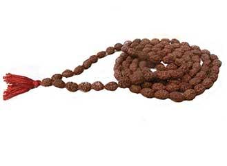 3 Mukhi Rudraksha Mala / Rosaries