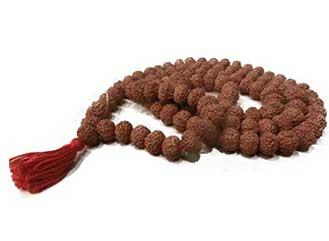 9 Mukhi Rudraksha Mala / Rosaries